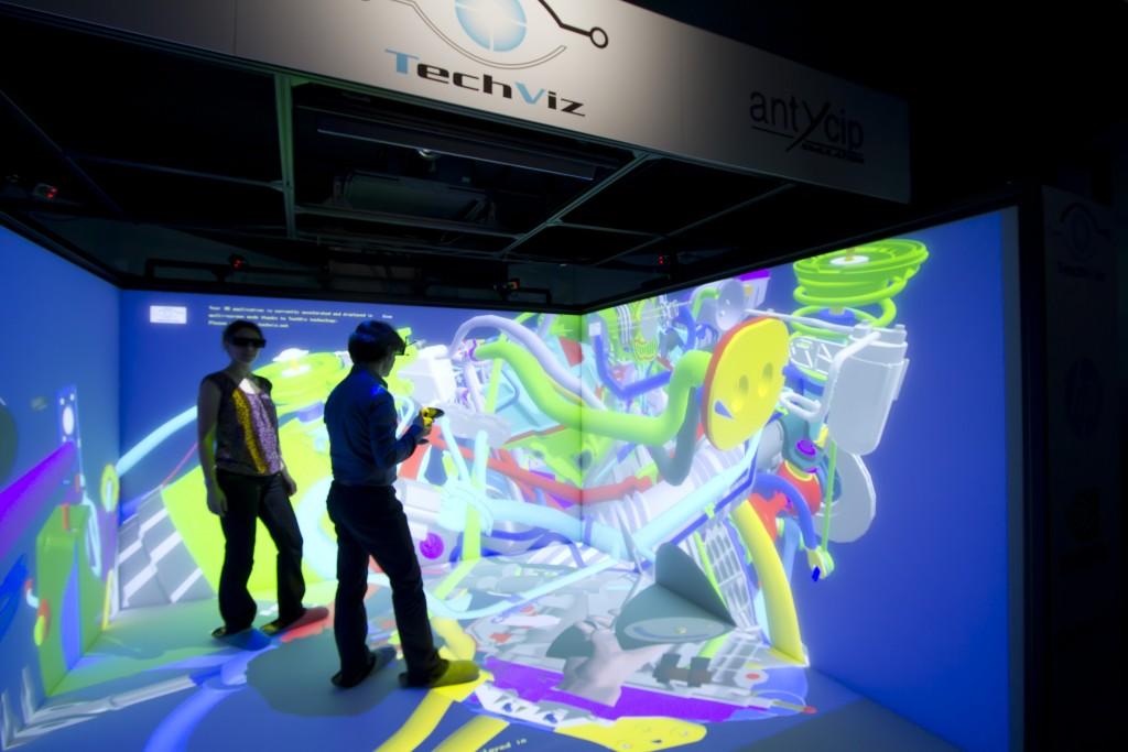 TechViz CAVE沉浸式体验展厅